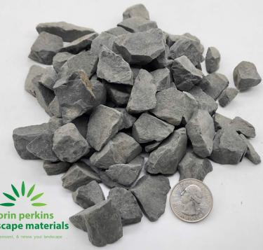 Dark Gray Crushed Rock 3/4""