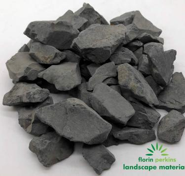 Dark Gray Crushed Rock 1-2""